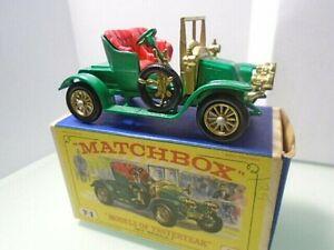 1969 MATCHBOX-'Models of Yesteryear' Y-2 1911 RENAULT w box