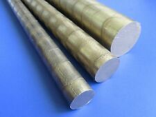 954 Aluminum Bronze Rod Round 1 12 1562 Dia 6 Long Qty 1