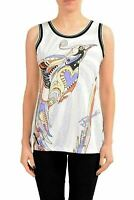 Just Cavalli Multi-Color Printed Sleeveless Women's Tank Top US S IT 40