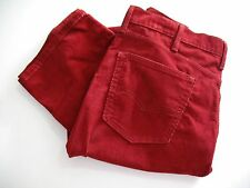 Levi's Mens 514 Straight Fit Bedford Corduroy Pants Tomato Sz 38x32 - NWT