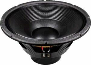 High Power 21-in Woofer w/Neodymium Magnetics & 6 inch diameter voice coil 4 ...
