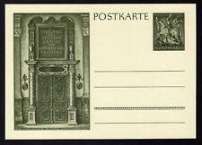 █ Ganzsache EINGANG ZUR REICHEN KAPELLE DER MUNCHENER RESIDENZ Postkarte DR █