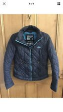 Superdry Jacket Coat Navy Lightweight Padded Quilted Small 8 10