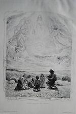 Original-Radierungen (1800-1899) mit Religion