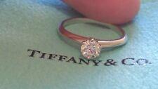 Tiffany & Co. Platinum .38 Carat Diamond Solitaire Engagement Ring