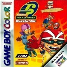 Nintendo GAMEBOY COLOR GIOCO-Nickelodeon Rocket POWER: Gettin 'Air con OVP