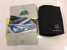 Mercedes Classe A A168 propriétaires Livre/manuel avec portefeuille 97 - 04 (1685846181) 2003