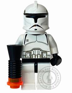 LEGO Genuine Star Wars Clone Trooper Minifigure Episode 2 Rare 4482 7163 sw0058