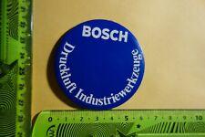 Alter Aufkleber Handwerk Maschinen BOSCH Druckluft Industriewerkzeuge (Metall?)