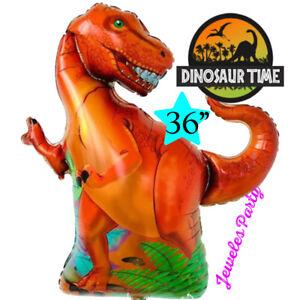 Dinosaur JurASSic Park World Birthday Party Balloon TOPPER Supplies CUPCAKE bann