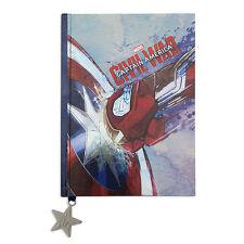 Captain America & Iron Man Civil War Movie Journal Notebook Super Hero Diary NEW