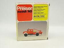 Preiser Kit da montare 1/87 HO Magirus F Mercur 125A Vigili del fuoco Feuerwehr