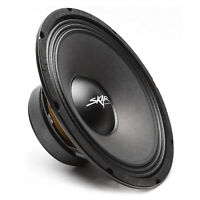 NEW SKAR AUDIO FSX10-4 400-WATT SINGLE 10-INCH 4 OHM MID-RANGE LOUDSPEAKER