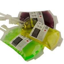 Grade PVC Energy Drink High Reusable Food Vampire Blood Bottle Bag Pouch