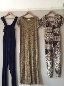 ZARA & MONSOON / LADIES BUNDLE JUMPSUITS & MAXI DRESS / SIZE MEDIUM UK10