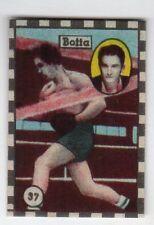 figurina CAMPIONI DELLO SPORT CICOGNA ANNI '50 NEW numero 37 BOTTA