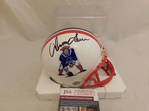 Irving Fryar Signed / Autographed New England Patriots TB Mini Helmet JSA COA