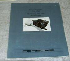 PORSCHE PFM 3200 AIRCRAFT ENGINE BROCHURE PORSCHE FLUGMOTOR  PFM 3200 c1986