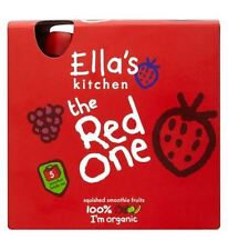 Ella'S Kitchen The Red One Squished Smoothie Fruits 5 X 90G