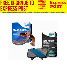 Bendix HD Brake Pad and Shoe Set MITSUBISHI TRITON DB1297HD-BS1760 fits Mitsu