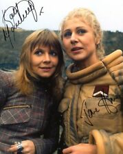 More details for doctor who autograph: katy manning & jane how (planet of the dalek) signed photo