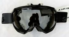 RARE $160 Scott Mens Notice OTG Over The Glasses Electric Fan Black Ski Goggles