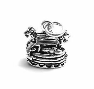 NOAH'S ARK sterling silver charm charms pendant 3d Religious Bible