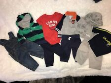 Carter's Boy's Lot of 9 Pieces Excellent Condition Size 3 Month