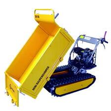 LUMAG MD500 Raupendumper Dumper Minidumper Motorschubkarre Transporter 4,8kW