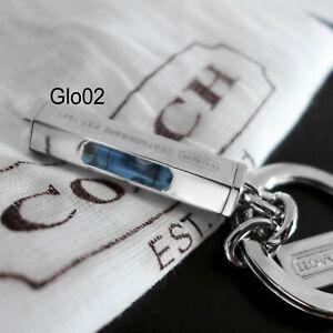 NEW COACH Men Nickel LEVEL Handy Tool 92090 RARE Keychain Key Ring FOB NEW