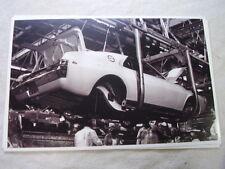 1968 AMC RAMBLER AMX ON ASSEMBLY LINE  11 X 17  PHOTO  PICTURE