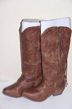 NEW Rampage TELULA Women's Cowboy Brown Winter Boots Shoes Size 8.5 M