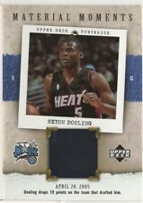 2005-06 UD Portraits Material Moments #KD Keyon Dooling