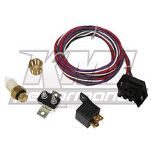 New Electric Cooling Fan Wiring Install Kit 200/125 Thermostat 20/30 Amp Relay