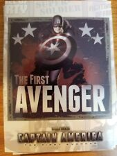 2011 Upper Deck Captain America The First Avenger #P-2 Poster Card