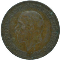 1936 HALF PENNY OF GEORGE V.     #WT15633