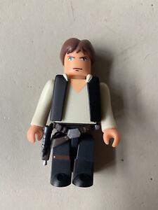 Han Solo Star Wars 100% Medicom Toy Kubrick Series 2 2003 Loose Figure