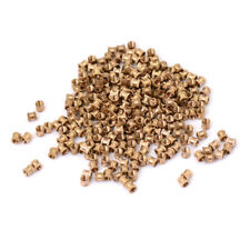 200pcs M3*4 copper nut inserts embedded parts copper knurl Pop ecg