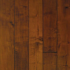 Handscraped Maple Rum Engineered Hardwood Flooring (Click Lock) Wood Floor $1.99