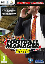 Football Manager 2016 Limited Edition (Calcio) PC IT IMPORT SEGA