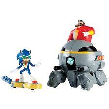 """Sonic boom 14760 """"Sonic vs Eggman"""" Conjunto de Juego-Hover Board-Nuevo Juguetes de sonic boom"""