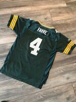Brett Favre Reebok Green Bay Packers Youth Xl NFL Jersey Nice