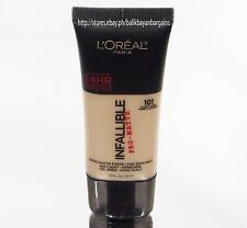 L'OREAL INFALLIBLE DEMI MATTE FINISH FOUNDATION MAKEUP COSMETIC #101 CLASC IVORY