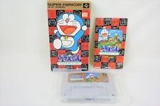 DORAEMON Nobita Yosei no Kuni Item ref/bcc Super Famicom Nintendo Japan Game sf