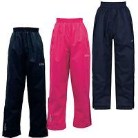 Regatta Chandler Kids Waterproof Lined Overtrousers Girls Boys Pants