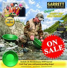 GARRETT METAL DETECTORS DELUXE GRAVITY TRAP GOLD PAN/PANNING KIT 316 MINING NEW
