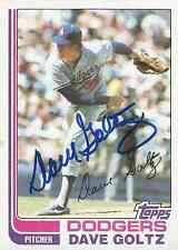 Dave Goltz authentic signed autographed trading card COA