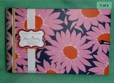 2 New Vera Bradley Loves Me Pink Blue Flowers Brag Photo Book Album holds 24