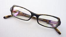 Brillenfassung Brillengestell schmal Brille klein Damen Kunststoff schwarz sizeS