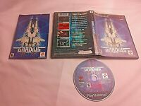 Sony PlayStation 2 PS2 CIB Complete Resurfaced Gradius III and IV Black Label